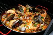 paella, specialità, su prenotazione